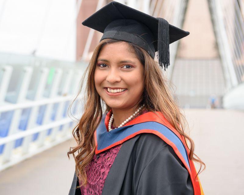 Melissa Graduation Techwuman